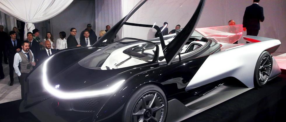 Faraday Future Elektroauto Zero1