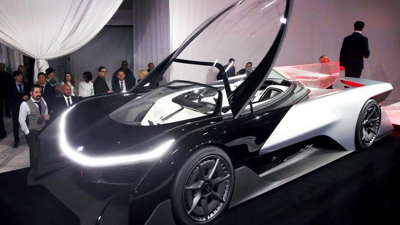 Faraday Future: Faraday Future hat in Las Vegas sein Elektro-Konzeptauto ZERO1 vorgestellt.