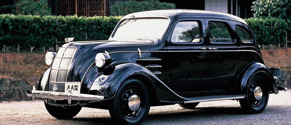 Das erste Toyota-Modell AA