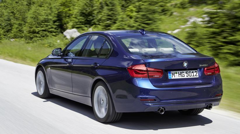 Weiß der Autohersteller, wo dieser BMW 3er gerade herumfährt?