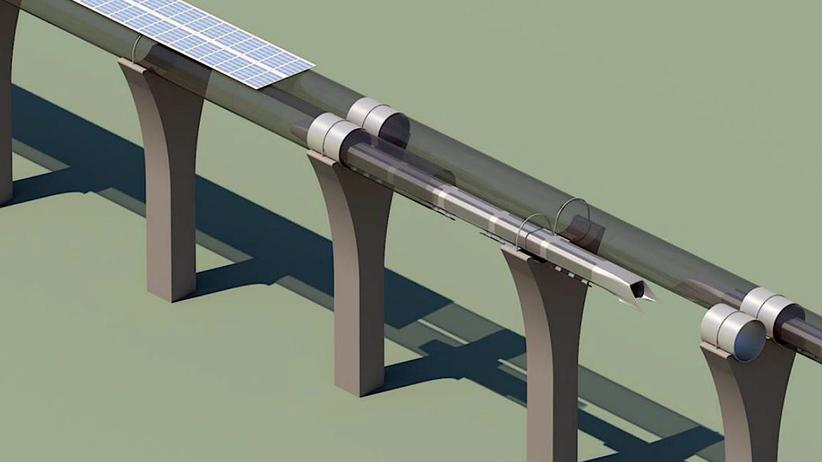 Entwurf des Hyperloop-Röhrensystems