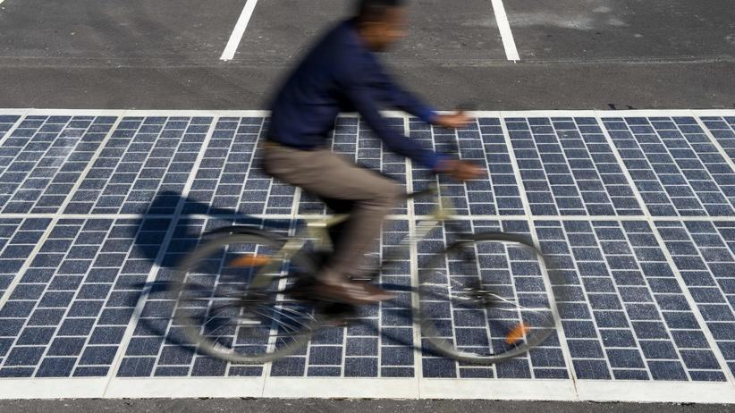 Photovoltaik-Platten Wattway Straßen