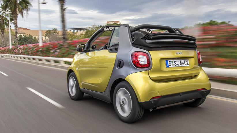 Smart Cabrio: Frischluft für zwei