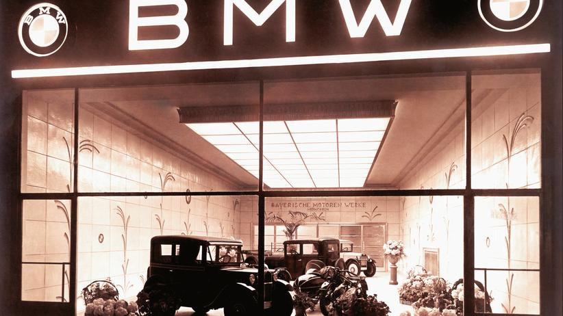 BMW-Verkaufsraum in Berlin 1929