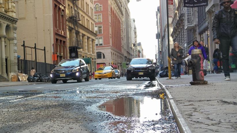 New York: Fast schon Gelände