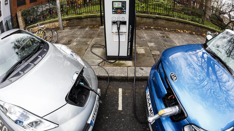 Ladesäulen Elektroautos