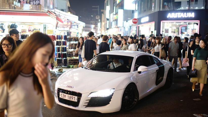 Sportwagen Hongdae Seoul