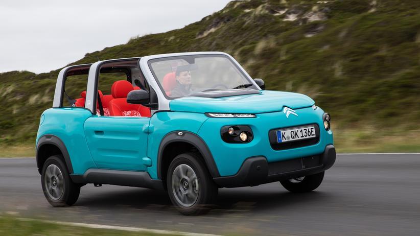 Citroën e-Méhari: Mit einem Lächeln am Steuer