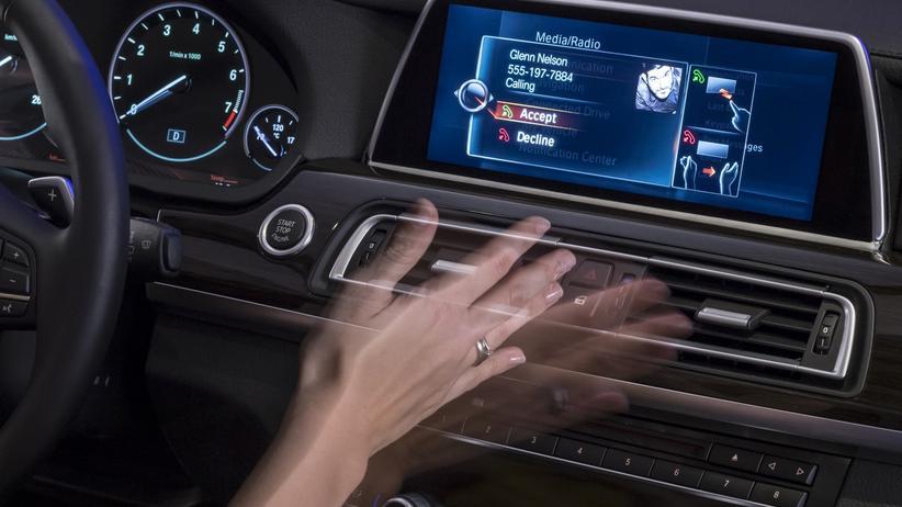 Auto Gestensteuerung