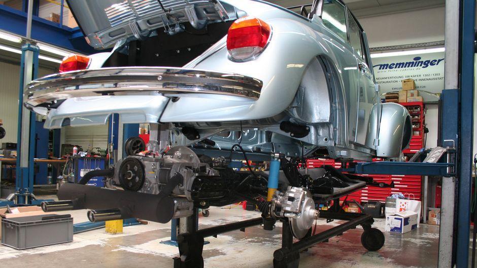 Oldtimer: VW Käfer, frisch aus der Fabrik | ZEIT ONLINE