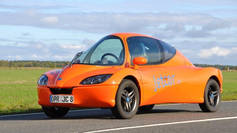 Automarken: Das Jetcar wurde auch in einer Elektro-Version angeboten.