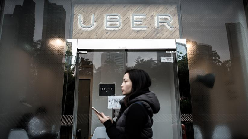 Uber: Uber-Büro in Hongkong © Philippe Lopez/AFP/Getty Images ()