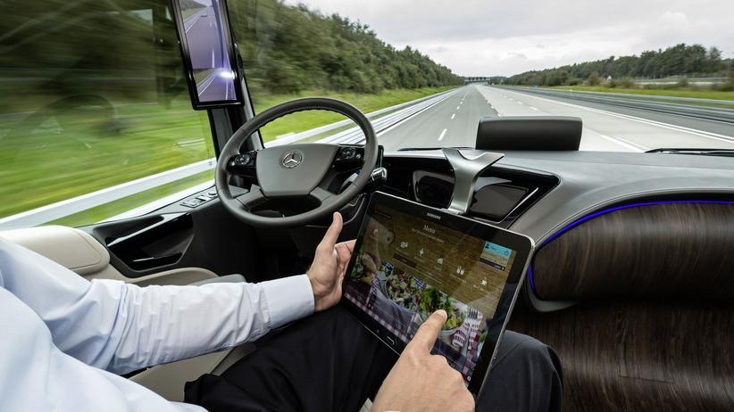 Autonomes Fahren: Auch Lkw sollen künftig autonom fahren.