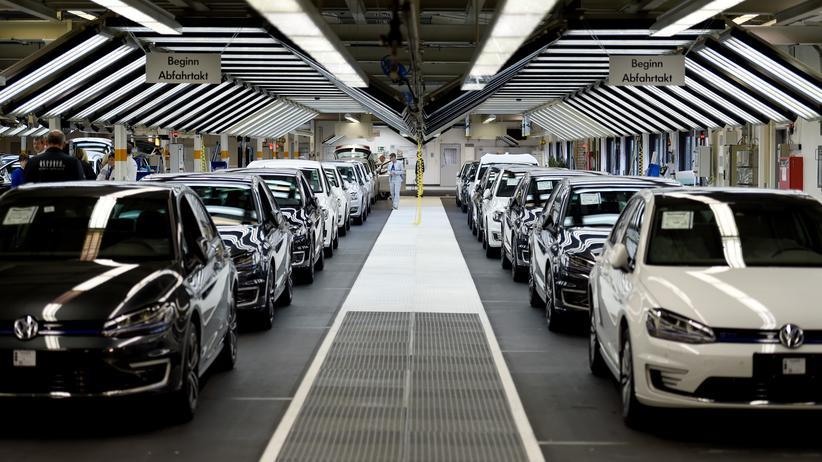 Volkswagen: Im VW-Werk in Wolfsburg