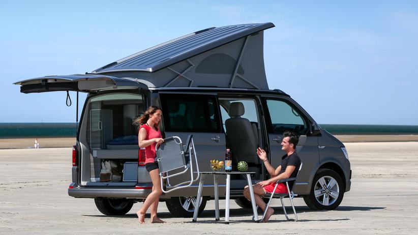 Caravaning: Der VW California steht für die kleinste Wohnmobilkategorie, den Campingbus.