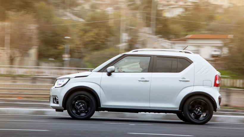 Suzuki Ignis Kleinstwagen Fur Waldwege