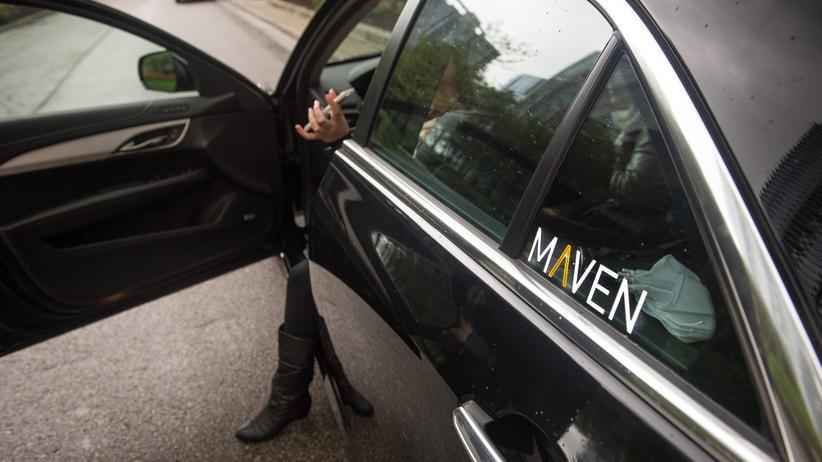 """Carsharing-Projekt """"Maven"""": In den USA läuft der GM-Mobilitätsdienstleister Maven bereits mit Erfolg."""