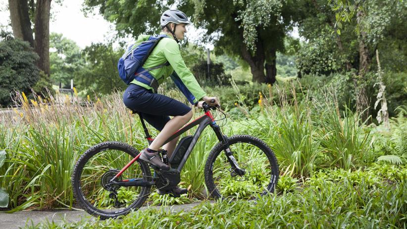 E-Bikes: E-Mountainbikes erfreuen sich großer Beliebtheit.
