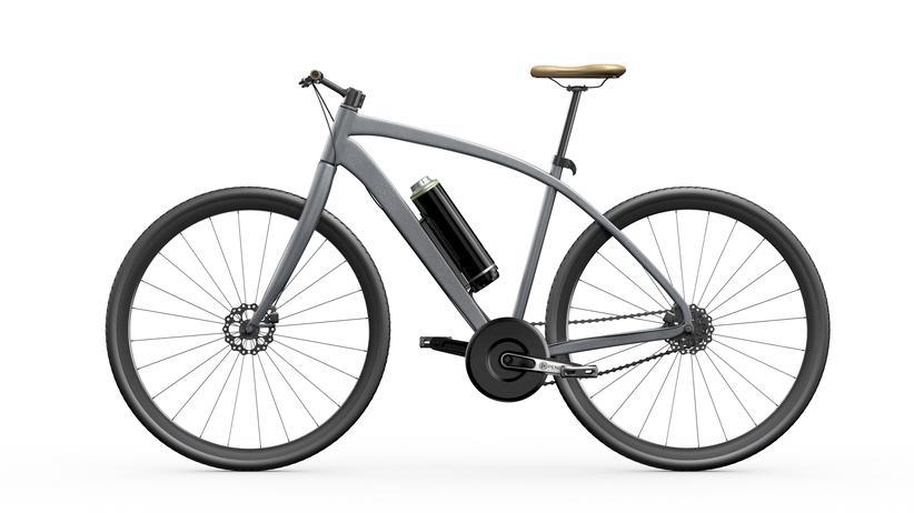 Pedelec: Ein mit dem Pendix-Motor nachgerüstetes Fahrrad