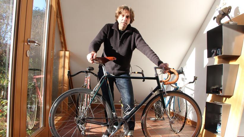 Rennräder: Wolfgang Hagemann sammelt und restauriert alte Designräder.