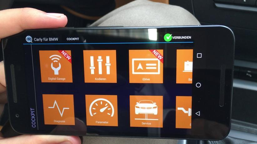 Tachomanipulation: Mit der Fahrzeuganalyse-App von Carly kann man püfen, ob Tachostände des Autos manipuliert wurden.