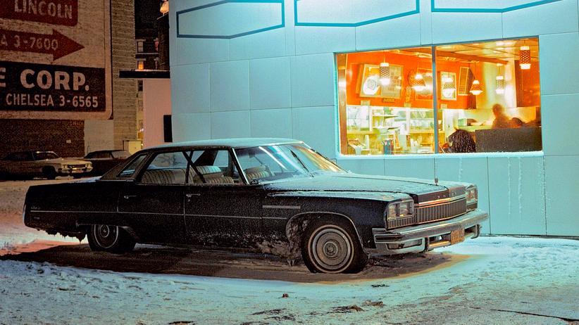 New York: Autos wie Hollywoodstars