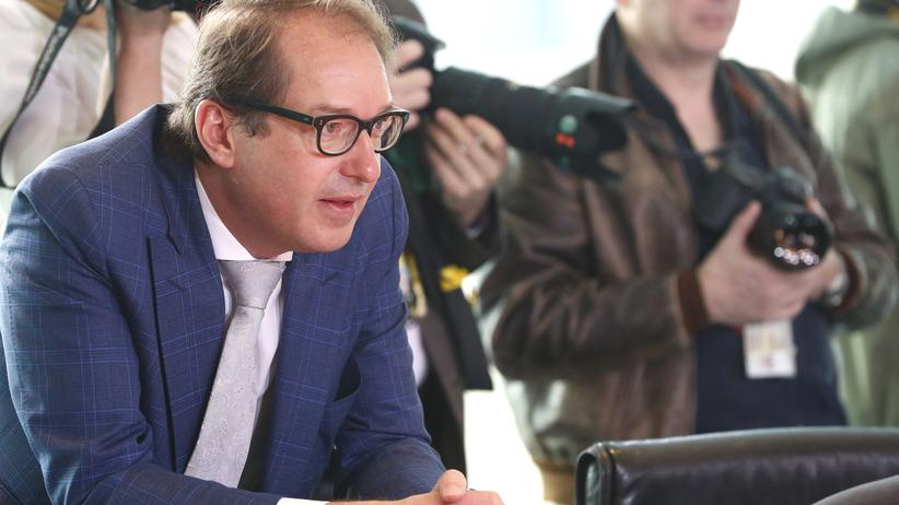 Alexander Dobrindt: Bundesverkehrsminister Alexander Dobrindt (CSU)