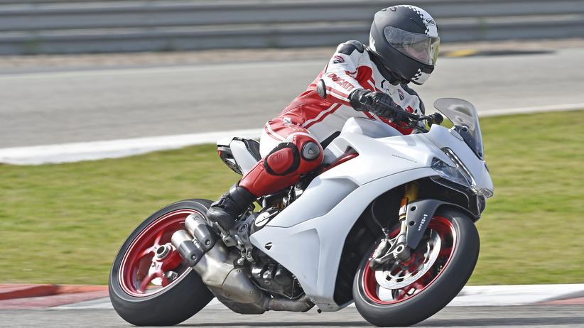 Ducati Supersport: Jeden Tag Rennfahrer