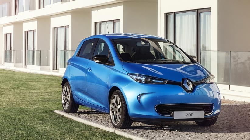 Elektroauto: Das Elektroauto Zoe von Renault hat jetzt eine erheblich größere Batterie.