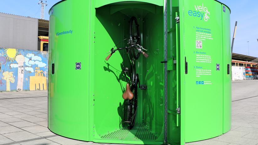 Fahrradboxen: Schließfach fürs Fahrrad