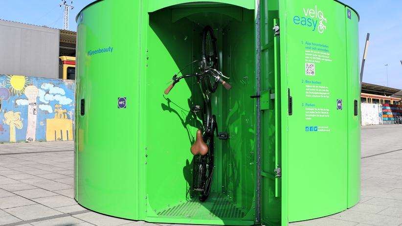 Fahrradboxen: Fahrradschließboxen in Berlin von Velo Easy