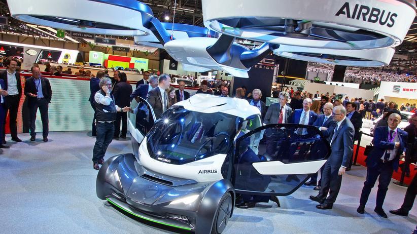 Genfer Autosalon: Airbus und Giugiaro zeigen auf dem Genfer Autosalon ein Flugauto namens Pop.up.