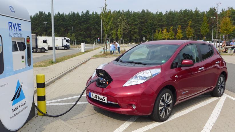 Gebrauchte Elektroautos: Der Nissan Leaf ist das weltweit meistverkaufte Elektroauto.