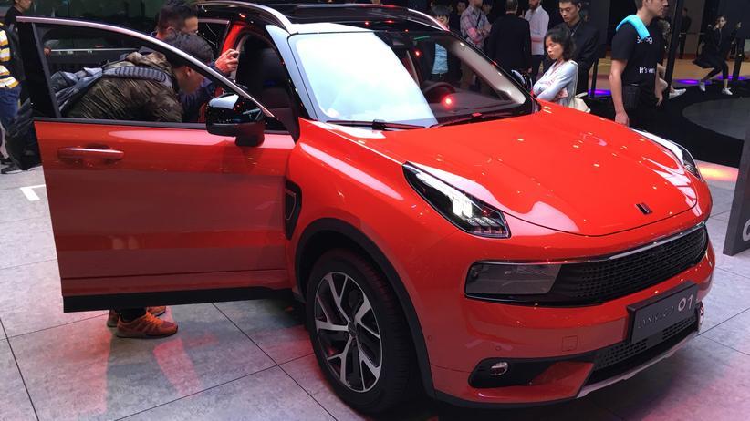 Lynk & Co: Die neue Automarke Lynk & Co zeigt auf der Automesse in Shanghai ihr erstes Modell, das Kompakt-SUV 01.