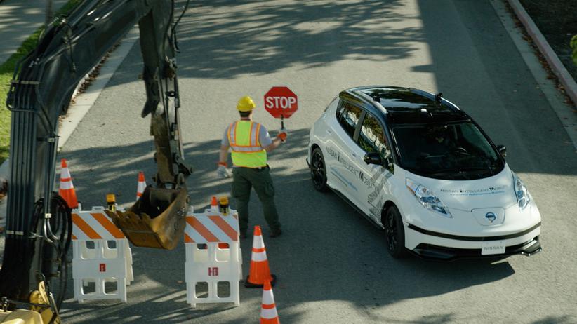 Autonomes Fahren: Baustellen sind eine besondere Herausforderung für selbstfahrende Autos.