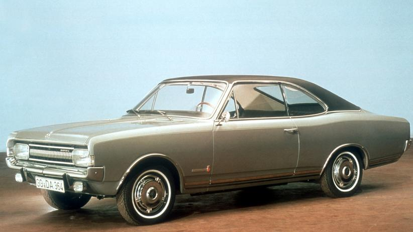 Opel Commodore: Commodore A Coupé von 1967