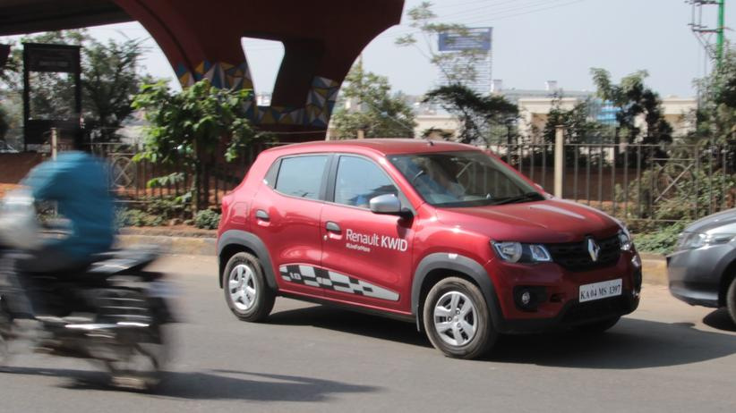 Renault: Der Renault Kwid hat sich in Indien zum Bestseller entwickelt.