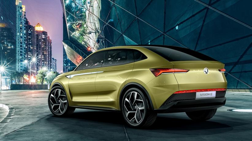 Škoda: Škodas erstes Elektroauto, Vision E