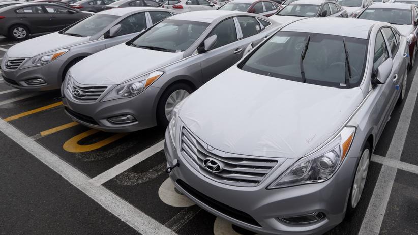 Südkorea: Auf koreanischen Straßen sieht man fast ausschließlich Autos von Hyundai.