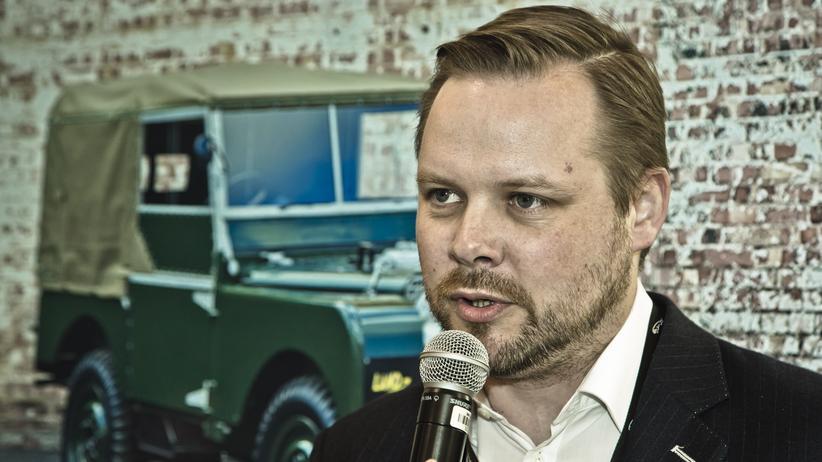 Jaguar: Tim Hannig leitet die Klassik-Abteilung bei Jaguar.
