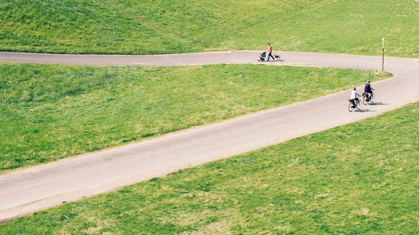Umweltbewusstsein: Eine große Mehrheit der Autofahrer kann sich vorstellen, häufiger mit dem Rad zu fahren.