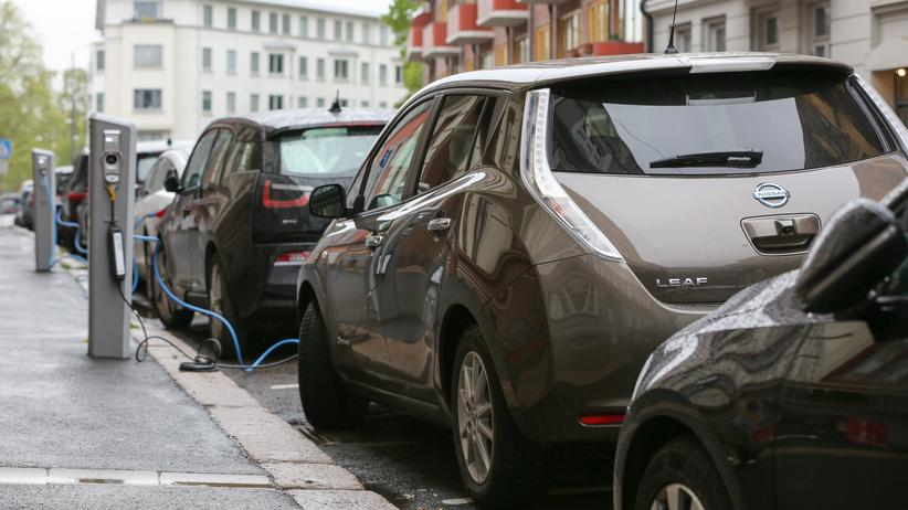 Elektroauto: Elektroautos in Oslo