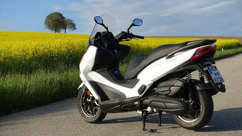 Kymco X-Town 125i : Der 125i ist die kleinere Version des gelungenen Kymco X-Town 300i.
