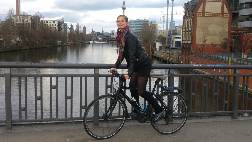 Radfahren: Juliane Schumacher ist begeisterte Radfahrerin.