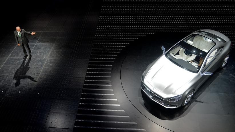 Kartellverdacht: Daimler-Chef Dieter Zetsche 2013 auf der Messe IAA in Frankfurt am Main