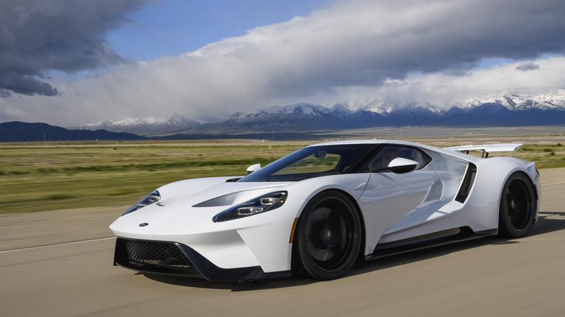 Der Ford GT ist ein zweisitziger Supersportwagen mit 656 PS.