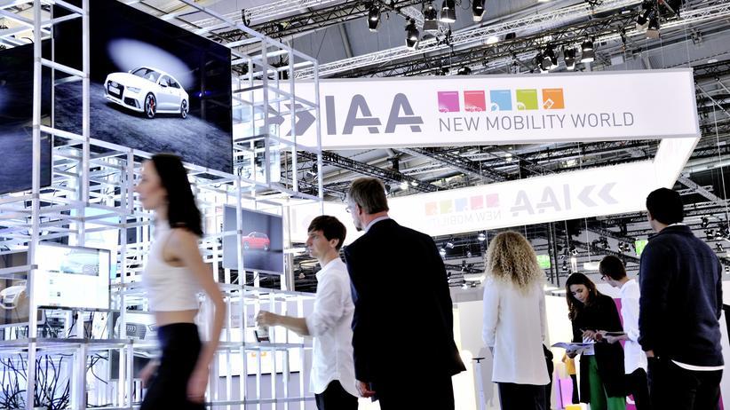 Verkehr: Die New Mobility World auf der IAA in Frankfurt