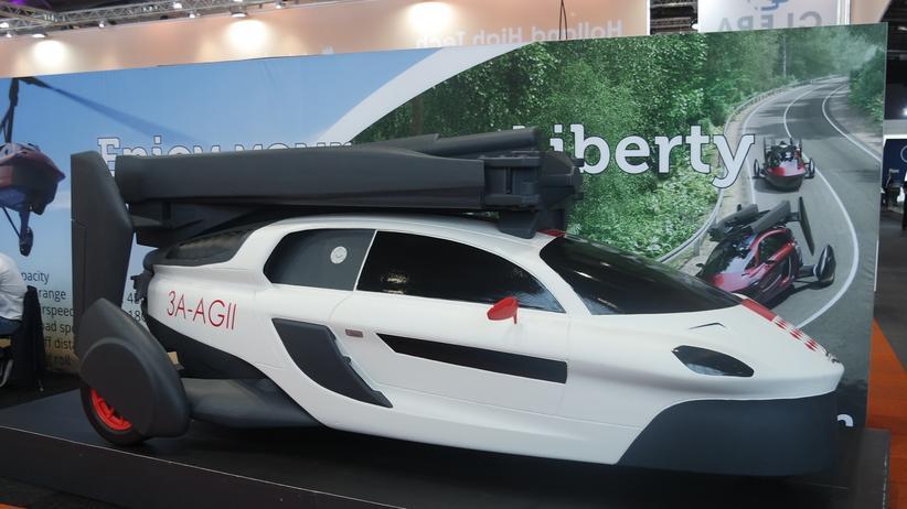 Fliegende Autos: Das Flugauto Liberty des niederländischen Anbieters PAL-V