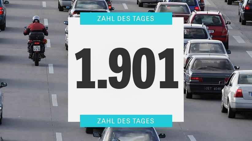 Autofahrer: Deutsche stehen länger im Stau