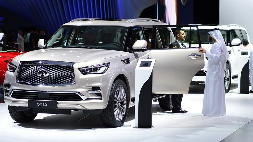 Dubai Motor Show: Der Spaß der Scheichs